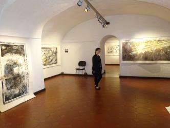 morgane dans la galerie