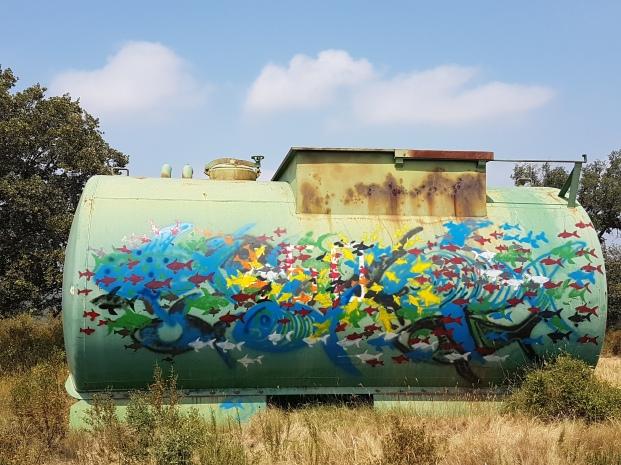 Citerne/Graffiti